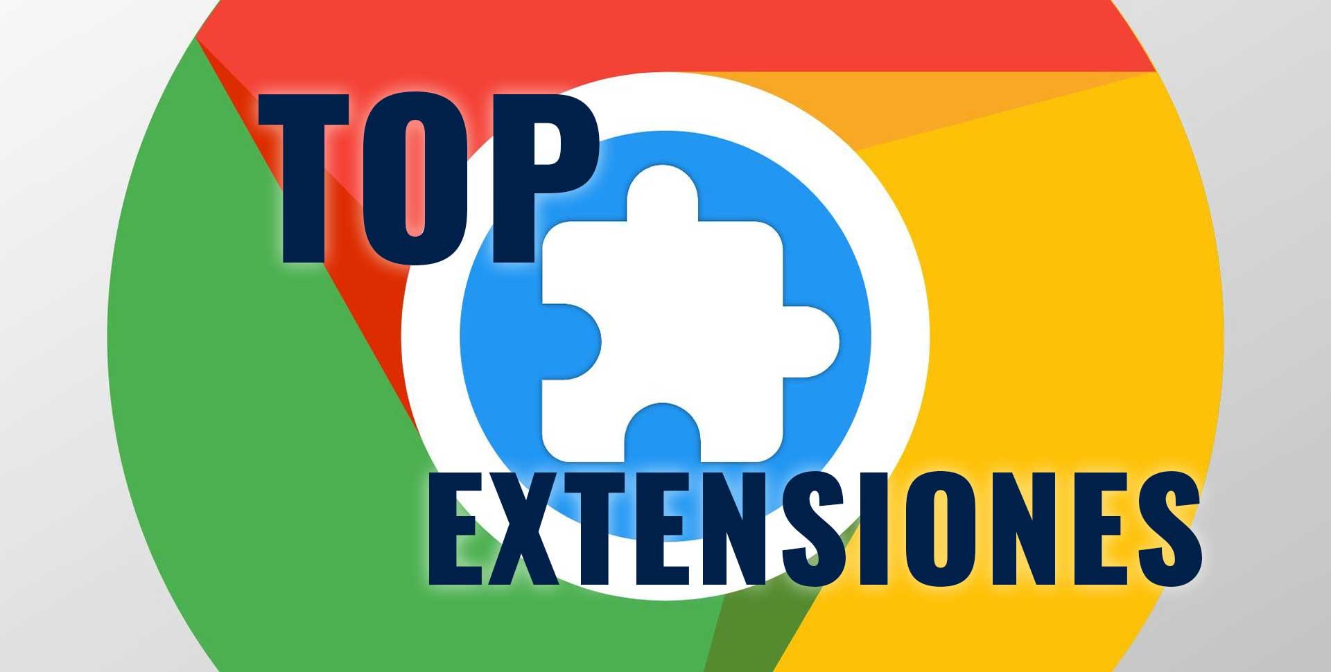 Top Extensiones google