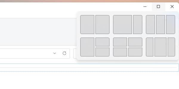 opciones alternativas al maximizar windows 11