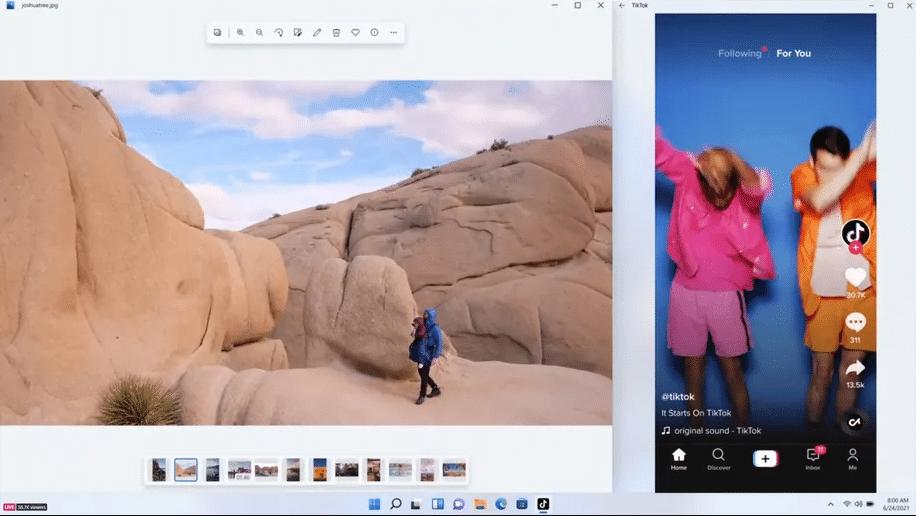 aplicaciones android en windows 11